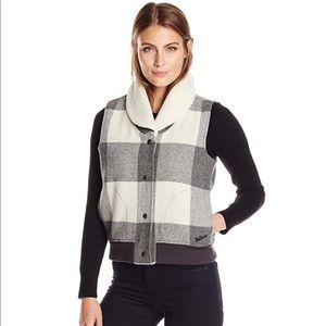 🐑 NWOT WoolRich Giant Buffalo Plaid Wool Vest 🐑